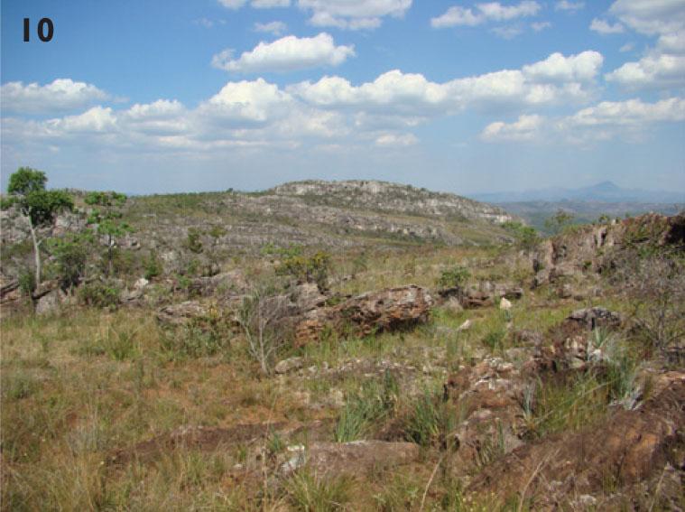 Campo Rupestre area in Diamantina, Minas Gerais, Brazil